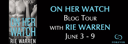 Rie Warren - On Her Watch Blog Tour